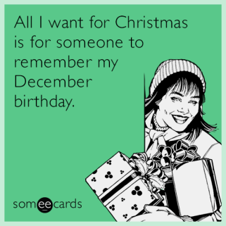 December Birthdays